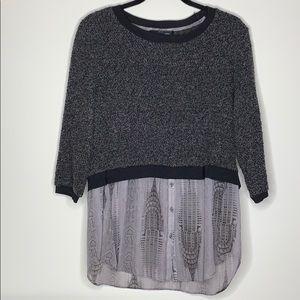 Elie Tahari Sweater Blouse